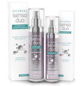 Vivese Senso Duo Shampoo – Osłabione włosy? Pragniesz preparatu, który rozwiąże ten problem oraz polepszy stan Twoich włosów raz na zawsze? To znalazłaś!