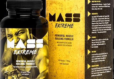 Mass Extreme – Solidniejsza rzeźba oraz napompowana sylwetka, to coś co zdobędziesz bez problemu z Mass Extreme!