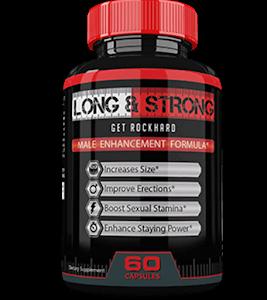 Long&Strong – Dłuższa, silniejsza oraz twardsza erekcja? Spróbuj ów doskonały suplement!
